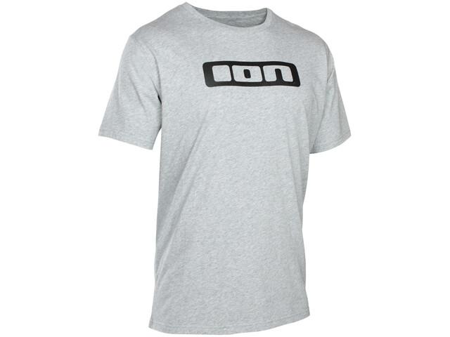 ION Logo T-shirt Homme, grey melange